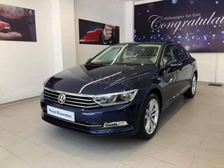 Volkswagen Passat Bluemotion màu xanh - nhập khẩu nguyên chiếc từ Đức, mang đường nét thiết kế thanh lịch và sang trọng.