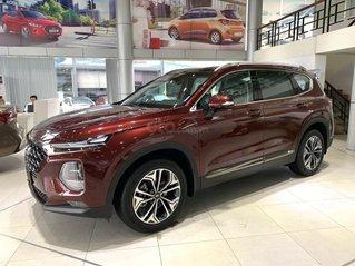 Hyundai Santa Fe xăng dầu giảm ~ 100% thuế trước bạ