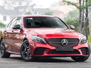 Bán xe Mercedes C300 AMG 2020, màu đỏ, xe nhập