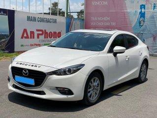 Bán Mazda 3 màu trắng 2018 như xe mới chỉ 590 triệu