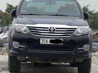 Cần bán lại xe Toyota Fortuner 2.7V 2015, màu đen, giá tốt