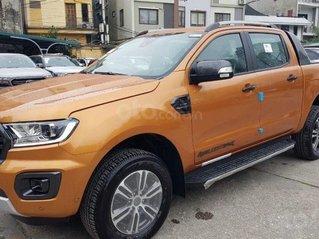 Xe Ford Ranger Wildtrak 2.0L 4x4 AT 2020, màu cam