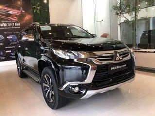 Bán Mitsubishi Pajero Sport năm sản xuất 2019, màu đen, xe nhập