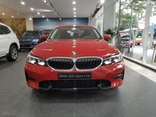 BMW 320i Sport Line năm 2020, màu đỏ, nhập khẩu