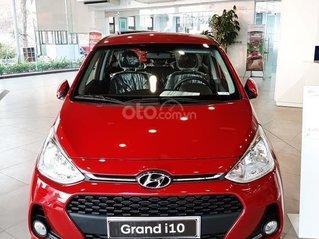 [Giảm 50% thuế trước bạ] Hyundai Grand i10 2020 siêu khuyến mãi, hỗ trợ trả góp 85%, trả trước 80 triệu nhận ngay xe