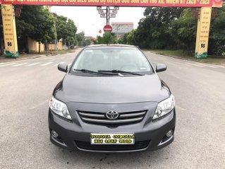 Toyota Corolla XLI 1.6AT cuối năm sản xuất 2009 đăng ký 2010, màu xám ghi, tự động, nhập khẩu, mới nhất Việt Nam