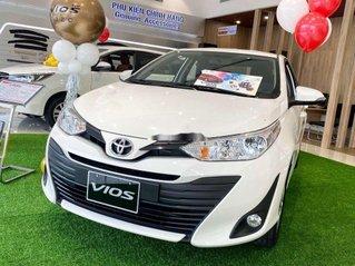 Bán Toyota Vios đời 2020, màu trắng, giao xe nhanh