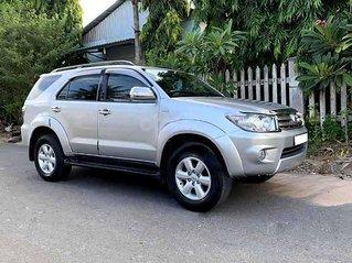 Bán ô tô Toyota Fortuner 2.5G năm sản xuất 2009, màu bạc còn mới, giá 482tr
