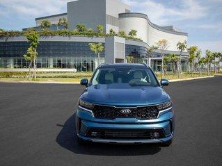 Cần bán xe Kia Sorento năm sản xuất 2020, màu xanh