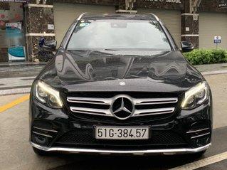 Bán hoặc đổi xe Mercedes GLC 300 4Matic 2017 màu đen, siêu mới, biển số Tp. HCM