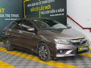 Honda City Top 1.5AT 2017, màu nâu