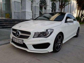 Bán xe thể thao đẹp hoàn hảo Mercedes CLA250 4Matic 2014, màu trắng, xe nhập