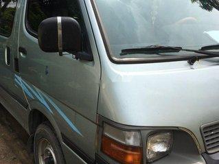 Bán xe Toyota Hiace đời 2000, xe nhập, 16 chỗ, màu xanh ngọc