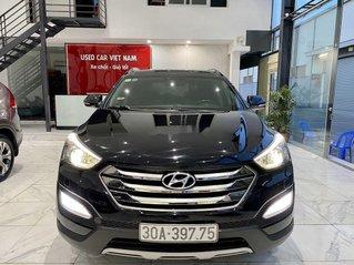 Bán Hyundai Santa Fe sản xuất 2014, màu đen, nhập khẩu Hàn Quốc
