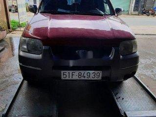Bán xe Ford Escape đời 2002, màu đỏ, số tự động, 140 triệu