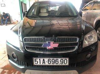 Bán Chevrolet Captiva đời 2008, màu đen