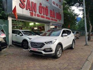 Cần bán xe Hyundai Santa Fe năm 2017, màu trắng chính chủ