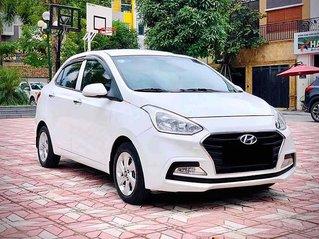 Cần bán xe Hyundai Grand i10 đời 2018, màu trắng còn mới, giá 375tr