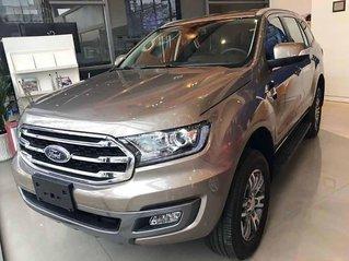 Bán Ford Everest Trend 2.0L 4x2 AT 2020, màu nâu, nhập khẩu