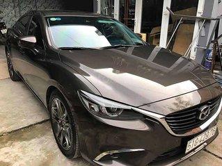 Xe Mazda 6 năm 2017, màu xám còn mới, giá 708tr