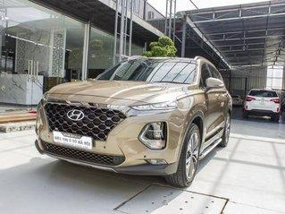 Bán Hyundai Santa Fe sản xuất 2019, màu nâu vàng