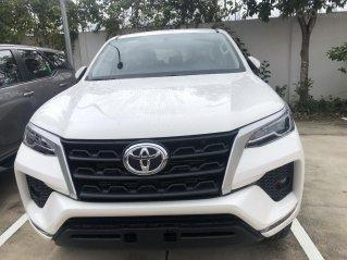 Toyota Fortuner 2.4G đời 2020 màu trắng giao ngay