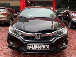Cần bán lại xe Honda City sản xuất 2018, màu đen