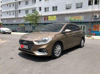 Cần bán gấp Hyundai Accent đời 2019, nhập khẩu, màu vàng cát