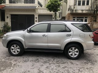Gia Hưng Auto bán xe Toyota Fortuner 2.5G máy dầu, màu bạc SX 2009