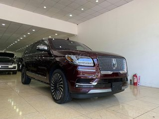 Bán xe Lincoln Navigator L Black Label sản xuất 2020 màu đỏ