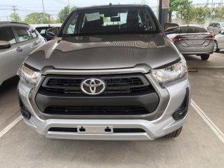 Bán Toyota Hilux số sàn 2.4 mẫu 2021, giao xe ngay- Khuyến mãi giảm tiền mặt
