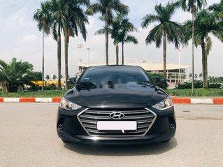 Bán Hyundai Elantra 1.6 AT sản xuất 2017, màu đen, 535tr