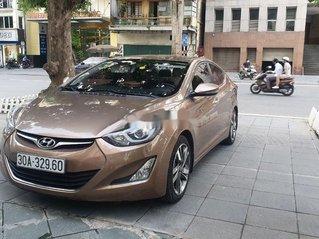 Bán Hyundai Elantra đời 2014, màu nâu, xe nhập còn mới