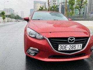 Bán ô tô Mazda 3 năm sản xuất 2017, màu đỏ còn mới
