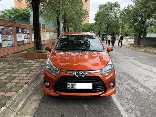 Bán ô tô Toyota Wigo đời 2019, màu nâu, nhập khẩu nguyên chiếc còn mới
