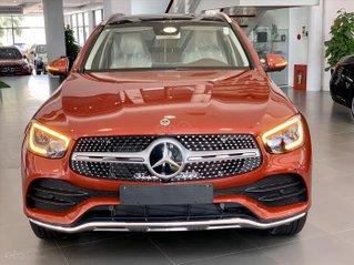 Mercedes GLC 300 4 Matic giá tốt nhất, hỗ trợ 50% thuế trước bạ, tặng 01 năm BH thân vỏ, 02 năm bảo dưỡng miễn phí