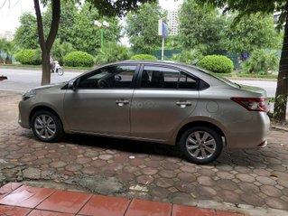 Bán ô tô Toyota Vios năm 2015, biển Hà Nội 1 chủ từ đầu