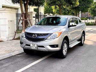 Bán Mazda BT 50 sản xuất năm 2015, màu bạc, nhập khẩu