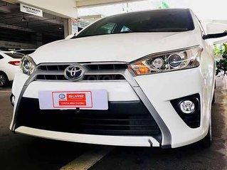 Cần bán Toyota Yaris 1.5G sản xuất 2017, màu trắng, xe nhập