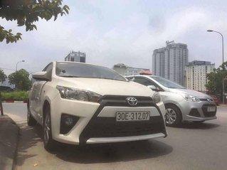Bán xe Toyota Yaris 1.3E năm sản xuất 2015, màu trắng, nhập khẩu