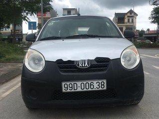 Bán Kia Morning Van đời 2010, màu bạc, nhập khẩu xe gia đình