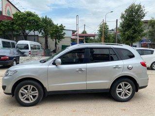 Bán Hyundai Santa Fe sản xuất năm 2010, màu bạc, nhập khẩu nguyên chiếc còn mới, giá tốt