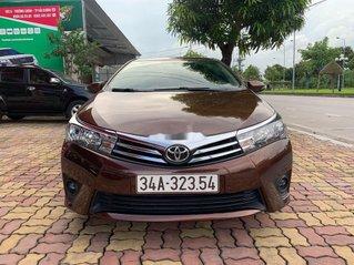 Cần bán xe Toyota Corolla Altis 2015, màu nâu