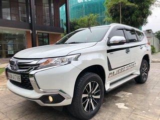 Cần bán gấp Mitsubishi Pajero Sport năm 2019, màu trắng, nhập khẩu nguyên chiếc
