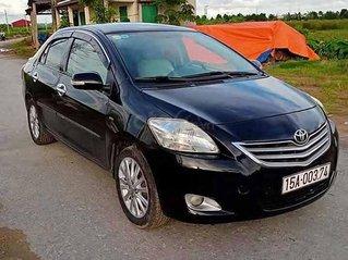 Cần bán lại xe Toyota Vios 1.5E đời 2010, màu đen còn mới, giá tốt