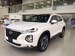 Bán ô tô Hyundai Santa Fe sản xuất 2020, màu trắng, giá cạnh tranh