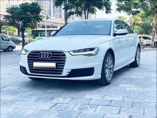 Audi A6 - Sx 2016, màu trắng nội thất nâu