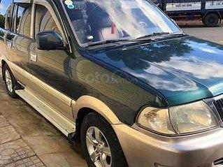 Cần bán gấp Toyota Zace năm sản xuất 2004, màu xanh lam còn mới