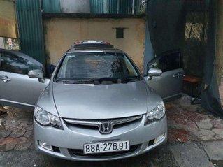 Cần bán xe Honda Civic 2.0 AT năm 2008, màu bạc