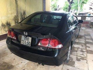 Bán xe Honda Civic năm 2009, màu đen, số sàn